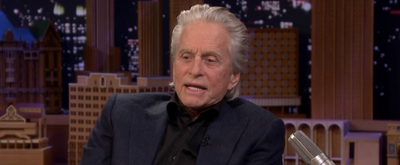 VIDEO: Michael Douglas Talks About Golfing With Donald Trump on THE TONIGHT SHOW