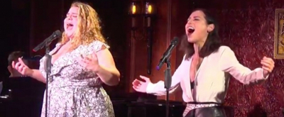 VIDEO: Bonnie Milligan and Natalie Walker Belt Out 'Let Me Be Your Star' From SMASH!