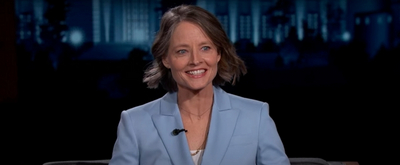 VIDEO: Jodie Foster Talks About Her GOLDEN GLOBE Nomination on JIMMY KIMMEL LIVE!