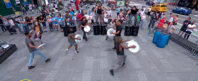 VIDEO: STOMP Performed This Morning on GOOD MORNING AMERICA!