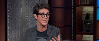 VIDEO: Rachel Maddow Says There's a Second Trump Whistleblower on THE LATE SHOW WITH STEPHEN COLBERT