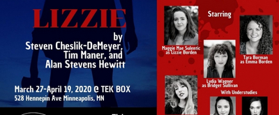 Minneapolis Musical Theatre Announces Cast, Tickets For Twin Cities Premiere Of LIZZIE