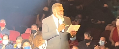 VIDEO: Norm Lewis Shouts Out Broadway Debuts at CHICKEN & BISCUITS First Preview