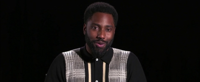 VIDEO: John David Washington Talks About Moving Back in With His Parents on THE LATE LATE SHOW