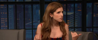 VIDEO: Anna Kendrick Stopped By LATE NIGHT WITH SETH MEYERS to Talk Amsterdam