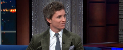 VIDEO: Eddie Redmayne Talks About Shooting THE AERONAUTS on THE LATE SHOW WITH STEPHEN COLBERT