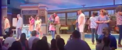 VIDEO: Colleen Ballinger and Todrick Hall Take Their First Bows in WAITRESS