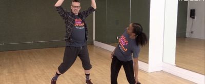 DANCE CAPTAIN DANCE ATTACK: Ben Does Fine on Cloud Nine with AIN'T TOO PROUD's Esther Antoine!