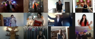 VIDEO: Teenagers Unite to Build a Virtual Prom with Members of Broadway Cast of THE PROM!
