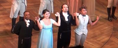 VIDEO: On This Day, July 9- Lin-Manuel Miranda, Phillipa Soo, Ariana DeBose, and Leslie Odom, Jr. Say Goodbye to HAMILTON