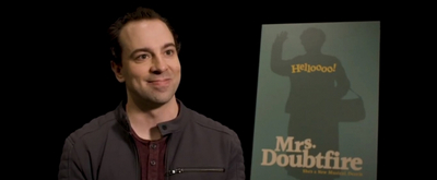 VIDEO: Rob McClure Talks MRS. DOUBTFIRE, Parenthood, And More!