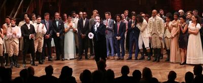 Spotlight on HAMILTON: Flash Back to the Historic Opening Night on Broadway