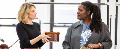 Photo Flash: Go Inside Rehearsal for CAROLINE, OR CHANGE on Broadway, Starring Sharon D. Clarke, Caissie Levy, Chip Zien and More