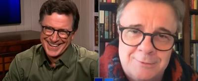 VIDEO: Nathan Lane Gives Stephen Colbert A Tour of His Showbiz Memorabilia
