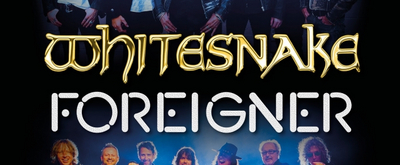 Whitesnake & Foreigner Announce U.K. 2020 Tour