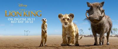 Disney's THE LION KING Arrives on Digital Oct. 11