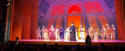 VIDEO: Watch the Original Voice of Jafar, Jonathan Freeman, Receive a Surprise Serenade From ALADDIN Cast Members