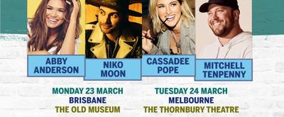INTRODUCING NASHVILLE Four Artist Series Returns To AU & NZ March 2020