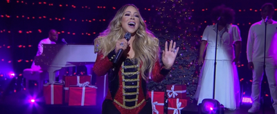 VIDEO: Watch Mariah Carey Perform 'All I Want For Christmas Is You' on THE LATE LATE SHOW WITH JAMES CORDEN