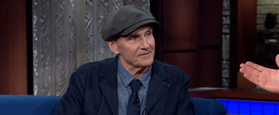 VIDEO: James Taylor Gives Advice to Young Musicians on THE LATE SHOW WITH STEPHEN COLBERT