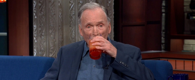 VIDEO: Dick Cavett Drinks Marlon Brando's Favorite Cocktail on THE LATE SHOW WITH STEPHEN COLBERT