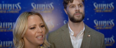 VIDEO: SLEEPLESS Stars Jay McGuiness and Kimberley Walsh Discuss Opening the Show, the Importance of Theatre, and More