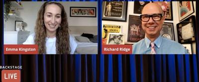 VIDEO: BKLYN's Emma Kingston Visits Backstage LIVE with Richard Ridge- Watch Now!