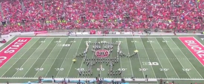 VIDEO: Ohio State University Performs a SPONGEBOB Themed Halftime Show