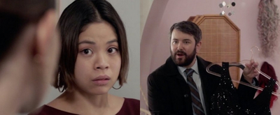 BWW Exclusive: Eva Noblezada & Alex Brightman Star in a Clip From LAW & ORDER: SVU Video