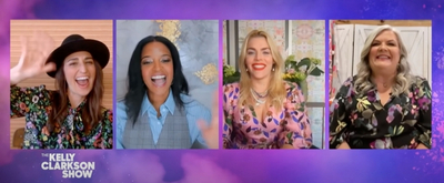 VIDEO: Kelly Clarkson & The GIRLS5EVA Cast Gush Over Their Favorite Girl Groups Video