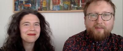 VIDEO: Abigail and Shaun Bengson Accept the Jonathan Larson Grant