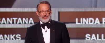 VIDEO: Tom Hanks Honors Sally Field at the 42ND ANNUAL KENNEDY CENTER HONORS