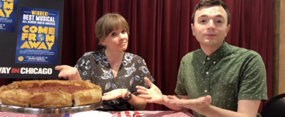 VIDEO: Watch COME FROM AWAY's Becky Gulsvig Eat Chicago Deep Dish Pizza And More!