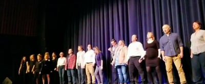 VIDEO: Citizens of Gander Perform 'Welcome to the Rock' From COME FROM AWAY