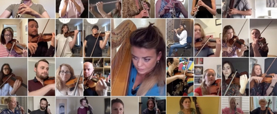 VIDEO: West End Musicians Perform a Medley of Musical Overtures Video