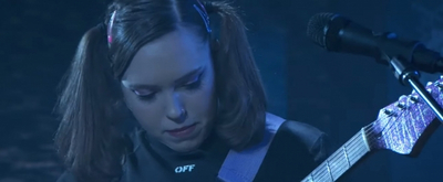 VIDEO: Soccer Mommy Performs 'Lucy' on JIMMY KIMMEL LIVE!
