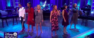 VIDEO: Original Disney on Broadway Leading Ladies Perform Special Medley on THE VIEW