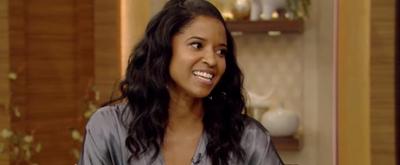VIDEO: Renée Elise Goldsberry Talks HAMILTON on LIVE WITH KELLY AND RYAN