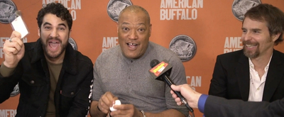BWW TV: Darren Criss, Laurence Fishburne and Sam Rockwell Talk AMERICAN BUFFALO on Broadway!