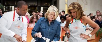 VIDEO: Martha Stewart Shares Thanksgiving Memories on TODAY SHOW