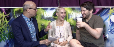 Backstage with Richard Ridge: Dare to Be Scared by BEETLEJUICE's Alex Brightman & Sophia Anne Caruso!