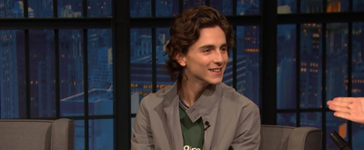 VIDEO: Timothée Chalamet Talks About Meeting Emma Watson on LATE NIGHT WITH SETH MEYERS