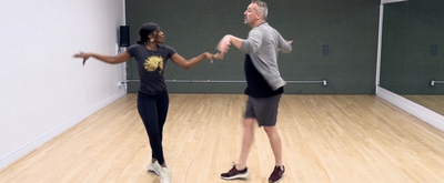 DANCE CAPTAIN DANCE ATTACK: Ben is Rollin' with TINA's Leandra Ellis-Gaston!