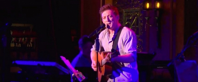 VIDEO: Ethan Slater Performs '(Just a) Simple Sponge' at 54 Below