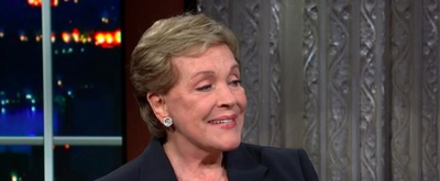 VIDEO: Julie Andrews Opens Up About Going to Therapy on THE LATE SHOW