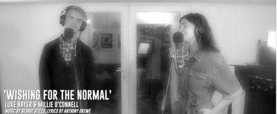 VIDEO: Luke Bayer and Millie O'Connell Sing 'Wishing For The Normal' From SOHO CINDERS