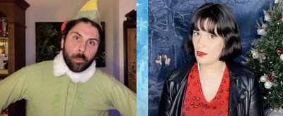 VIDEO: Quentin Garzon and Alyssa Fox Perform 'A Christmas Song' From ELF THE MUSICAL