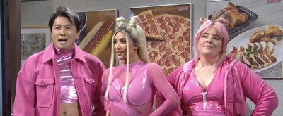 VIDEO: Kim Kardashian West Appears as a Member of a Pop Group in Cut SNL Sketch