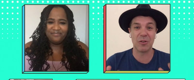 BWW Exclusive: FREESTYLE LOVE SUPREME Stars Drop By VIRTUAL CHATS WITH ARIEL & TREVOR on Disney Channel