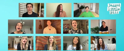 VIDEO: Watch JAGGED LITTLE PILL Company Unite to Sing 'Thank U'